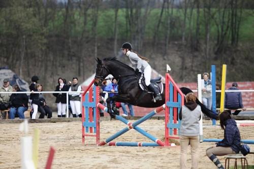 Jana Plachá na koni Beauty Princess v parkuru (70 cm) - známka 8,2 - 5. místo